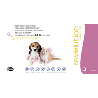 REVOLUTION (MAUVE) 3'S PUPPIES & KITTENS