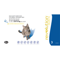 REVOLUTION (BLUE) 3S CAT 2.6-7.5KG