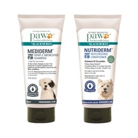 PAW MEDIDERM AND NUTRIDERM SHAMPOO & CONDITIONER DOG DUO