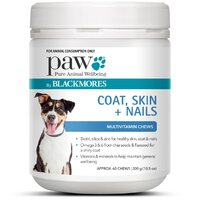 PAW COAT SKIN NAILS CHEWS 300GM B/MORES