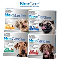 NEXGARD 6-PACK FOR DOGS 10.1-25KG