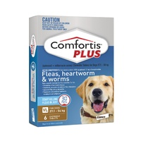 COMFORTIS PLUS 27.1-54KG1620MG 6 PACK CHEWABLE BROWN