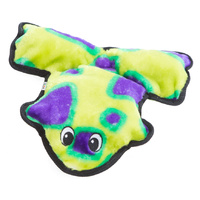 Outward Hound Invincible Frog Grn/Prpl 4sqk
