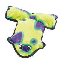 Outward Hound Invincible Frog Grn/Prpl 6sqk