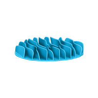 Outward Hound Fun Feeder Mat Mini Teal