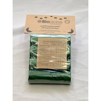 Bio-Gone Landfill Biodegradable Dog Poo Bags - 8 Roll (160 bags) Pack