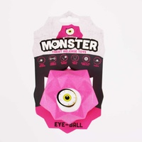 Monster Treat Release Dog Toys - Pink