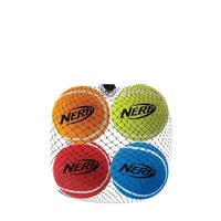 "1.75"" Squeak Tennis Balls-4pk - Assorted Colours"