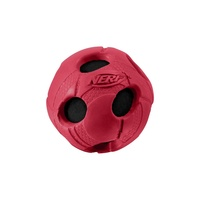 "3"" - MEDIUM Rubber Wrapped BASH Tennis Ball - Red"