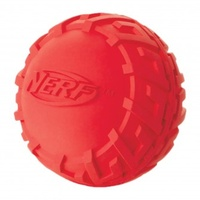 "3"" - MEDIUM Tire Squeak Ball - Red"