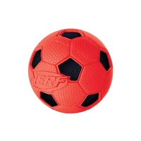 "2.5"" - SMALL Soccer  Crunch Ball - Red"