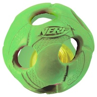 "2.5"" - SMALL LED  Bash Ball - Light-Up Green"