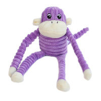 Spencer the Crinkle Monkey - Purple