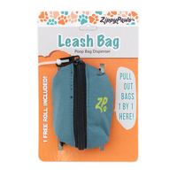 Adventure Leash Bag Dispenser - Forest Green