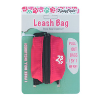 Adventure Leash Bag Dispenser - Hibiscus Pink