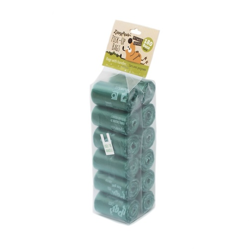 Adventure Pick-Up Bags on Roll-Green, 180-count