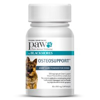 PAW Osteosupport Joint Health Care for Dogs - 80 Capsules
