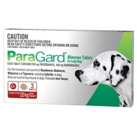 ParaGard All Wormer Tablet for Dogs 20kg - 3 Tablets