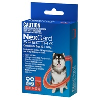 Nexgard Spectra for Dogs 30.1-60KG - 3-Pack