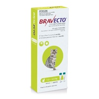 BRAVECTO SO CAT 1.2-2.8KG 2s