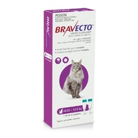 Bravecto Topical Spot-On - 3 month Flea & Tick Protection - For Cats 6.25-12.5kg
