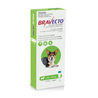Bravecto Spot-on Flea & Tick Treatment for Dogs 10-20kg