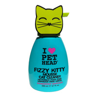 Pet Head Fizzy Kitty Mousse Strawberry Lemonade Cat Cleaner 190ml