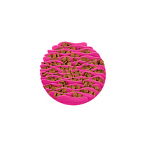 Outward Hound Fun Feeder Mat Mini Pink