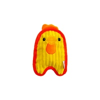 Outward Hound Invincibles Blaster Squeaker Dog Toy - Chicky