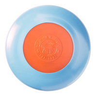 Planet Dog Zoom Flyer Frisbee Dog Toy in Blue & Orange