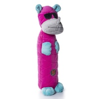 Bottle Bros Rhino Pink LG Dog Toy by Charming Pet