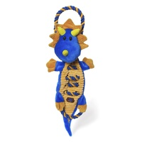 Charming Pet Ropes A-Go-Go Textured Dog Toy wiro K9 Tough Guard - Jungle Dragon