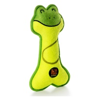 Lil Raquets - Frog Dog Toy by Charming Pet