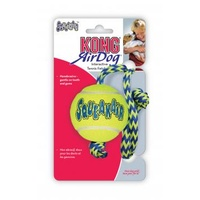 KONG AirDog Squeaker Ball wRope Medium