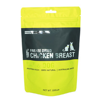 Australian Freeze Dried Treats - Chicken Breast Chunks for Cats & Dogs 100g