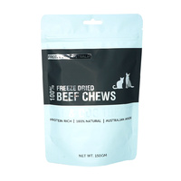 Australian Freeze Dried Treats - Whole Beef Chews for Cats & Dogs 150g