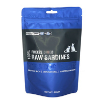 Freeze Dried Sardines - 80G by Freeze Dry Australia