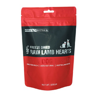 Freeze Dried Diced Lamb Hearts - 100G by Freeze Dry Australia