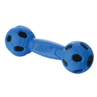 "7"" - MEDIUM Rubber Wrapped BASH Barbell - Blue"