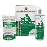 Natural Animal Solutions Skin Pack Treatment for Cats & Dogs 50g/200ml
