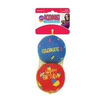 KONG Occasions Birthday Balls 2-pk Md