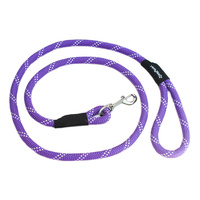Climbers Dog Leash - Purple 6 Feet
