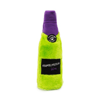 Zippy Paws Happy Hour Halloween Crusherz Squeaker Dog Toy - Frankenstein Wine