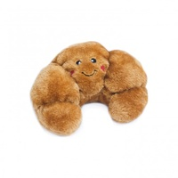 Zippy Paws NomNomz Squeaker Dog Toy - Croissant