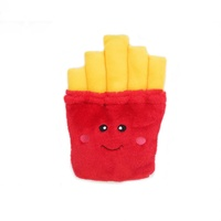 Zippy Paws NomNomz Squeaker Dog Toy - Fries