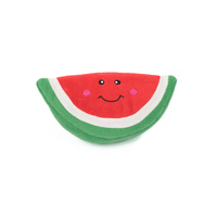 Zippy Paws NomNomz Squeaker Dog Toy - Watermelon