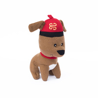 Plush Dog with Hat