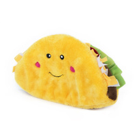Zippy Paws NomNomz Squeaker Dog Toy - Jumbo Taco