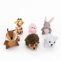 Zippy Paws Miniz Multipack Squeaker Dog Toys with 6 Mini Toys