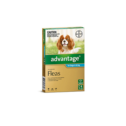ADVANTAGE DOG 4-10KG AQUA 4